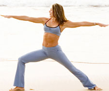 Beth Shaw yoga pose