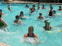 Group swimming power