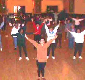 church hall fitness