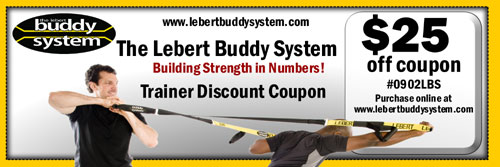 Lebert Buddy System Promotional Cupon