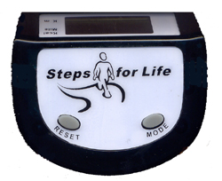 Steps for Life Pedometer