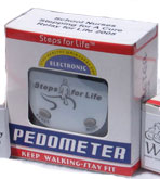 Steps for Life Pedometer in Box