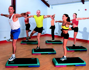 health club aerobics
