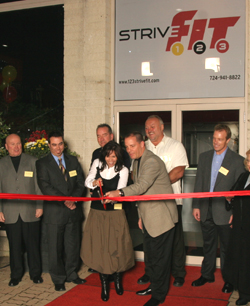 Strive 123 Ribbon Cutting