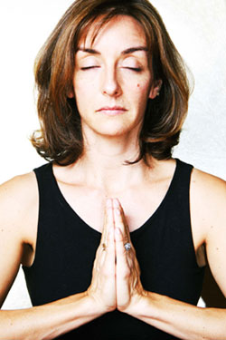 Yoga Prayer Pose